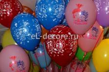 """Воздушные шары с гелием """"Фиксики"""""""